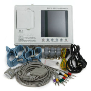 Factory Price Ce Approved Digital 3-Channel Color Electrocardiograph ECG (EKG-903A3) -Fanny pictures & photos