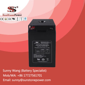 Solar Dry Cell Lead Acid 2V 400ah Photovoltaic System Battery pictures & photos