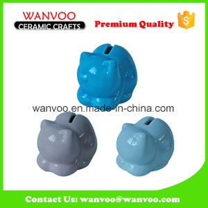 Chinese Style Blue Home Decor Pig Money Box pictures & photos