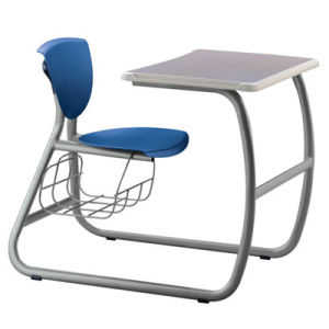 Modern Design Wooden Single Student Desk and Chair/School Furniture (FS-3217) pictures & photos