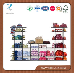 7′ Wide Floor Standing Wooden Display Shelf pictures & photos