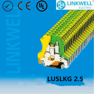 Plastic Earth Terminal Block (LUSLKG 2.5) pictures & photos