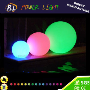 Garden Decoration LED Glow Floating Swimming Pool Ball pictures & photos