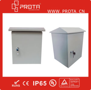 IP65 Waterproof Steel Electrical Cabinet for Outside Using pictures & photos