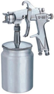 600cc Aluminum Cup Spray Gun W-100s pictures & photos