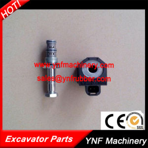 Hyundai Excavator Pilot Solinoid Valves Hydraulic Solenoid Valve for R215-7 pictures & photos