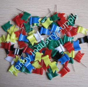 Colorful Waved Flag Shape Map Push Pins pictures & photos