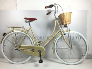 Yellow Cheap 26 Inch City Bike/Dutch Bike for Women pictures & photos