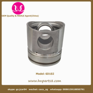 Komatsu 6D102 Piston for Construction Machinery Engine Parts 6738-31-2111 pictures & photos
