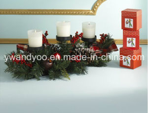 Luxury Scented Soy Wax Candle in Glass Jar with Gift Box pictures & photos