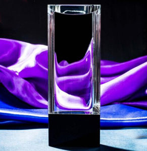 Best Selling Blank Crystal Glass Award for Business Gift pictures & photos