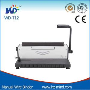 Manual Wire Binding Machine (WD-T12) pictures & photos