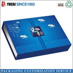 Custom Blue Cosmetic Box Paper Gift Box pictures & photos