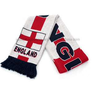 Custom Design Welcome Fan Football Scarf pictures & photos