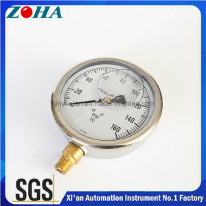 Hydraulic Gauge Shakeproof Oil Filled pictures & photos