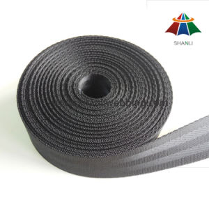 32mm Black High Tenacity Nylon Webbing for Car Seat Belt pictures & photos