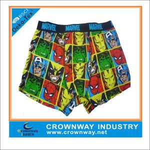 100% Cotton Customized Colorful Boy′s Boxer pictures & photos