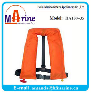 Best Sale Double Chambers Inflatable Life Jacket pictures & photos