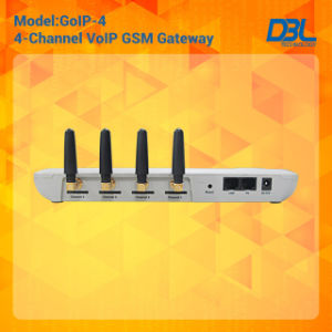 4 Channels GSM VoIP Gateway (GoIP4) pictures & photos