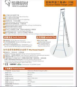 Tripode Aluminium Ladder Aluminum Profile pictures & photos