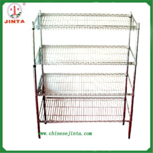 Chrome Plated or Powder Coated Wire Shelf (JT-F05) pictures & photos