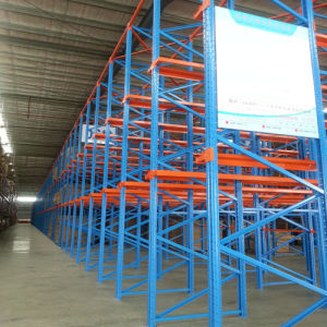 Strong Steel Adjustable Heavy Duty Warehouse Drive in Racking pictures & photos