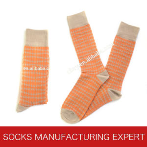 Men′s 100% Polyester Socks pictures & photos