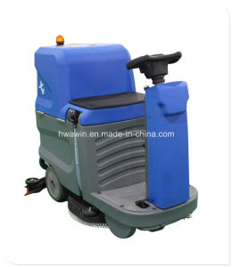 Battery Power Ride on Floor Scrubber pictures & photos