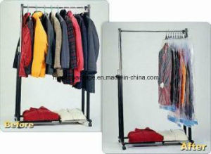 Hanging Vacuum Bag Organizer for Clothes 105*70cm pictures & photos