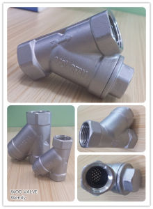 Gl11W Y Type Strainer SS304/316 pictures & photos