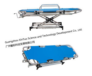 Hospital Furniture Cheap Scoop Stretcher for Ambulance pictures & photos