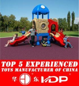 Newest 2016 Whloe Plastic Playground, Outdoor, Indoor Playground, Safe Playground pictures & photos