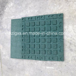 Green Recyle Rubber Flooring Tiles pictures & photos