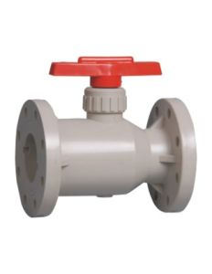 Best Rpp Flange Ball Valve, PVC Valve, Industrial Plastic Valves pictures & photos