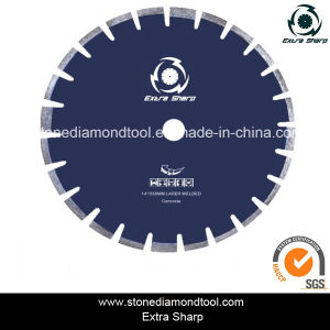 Laser Welded 10mm Segment 14 Inch Wet Concrete Saw Blade pictures & photos