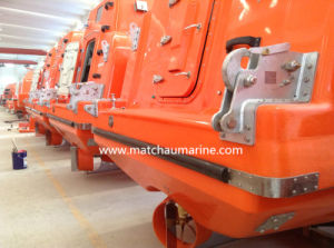 Cargo Version Free Fall Lifeboat with Launching Davit pictures & photos