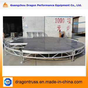 Hot Sale Aluminum Portable Stage for Wedding Platform (MS01B) pictures & photos
