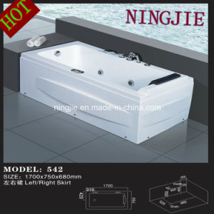Modern Economic Style Massage Bathtub Whirlpool Tub (Nj-542) pictures & photos