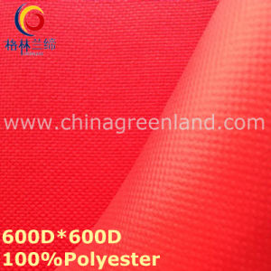 Coating Waterproof Polyester Plain Oxford Fabric for Clothes Bag (GLLML306) pictures & photos