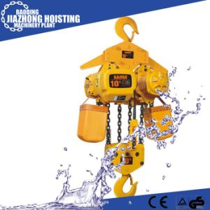 Huaxin 1ton 7meter Electric Construction Hoist for Crane pictures & photos
