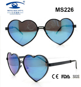 High Quality Colourful Fashion Metal Sunglasses (MS226) pictures & photos