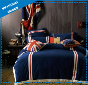 Flag Pattern Printed Duvet Cover Set Home Textile pictures & photos