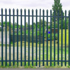 Powder Coated Wrought Iron Palisade Fence pictures & photos