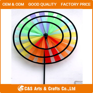 Wholesale Decoration Polyester Toy Windmill pictures & photos
