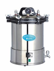 Portable Pressure Steam Autoclave Sterilizer (YX-280B) pictures & photos