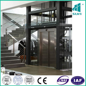 Home Lift with Hairline Stainless Steel pictures & photos