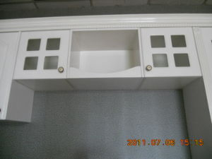 Wilsonart Plastic Laminated Kitchen Cabinet, Kitchen Cupboards Kc-071 pictures & photos