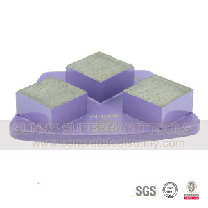 Fan Type Grinding Pad with Square Segment for Concrete Floor pictures & photos