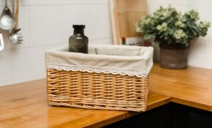 Handmade Wicker Storage Basket with Eco-Friendly (BC-ST1022) pictures & photos