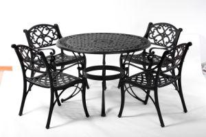 Elegant Dining Cast Aluminum Outdoor Set Furniture W/O Cushion pictures & photos